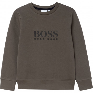 Fleece sweatshirt BOSS for BOY