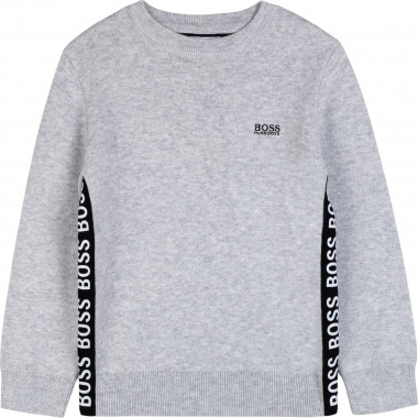Wool and cotton jumper BOSS for BOY