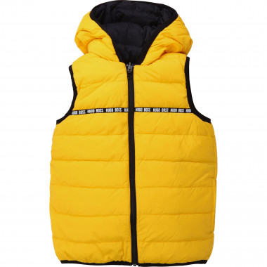 Hooded vest BOSS for BOY