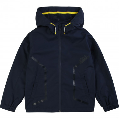 Waterproof hooded windbreaker BOSS for BOY