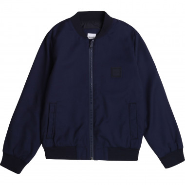 Cool wool zip-up jacket BOSS for BOY