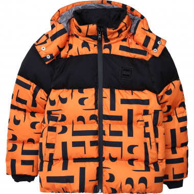 Polyester ski jacket BOSS for BOY