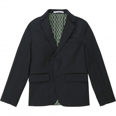 Herringbone suit jacket BOSS for BOY