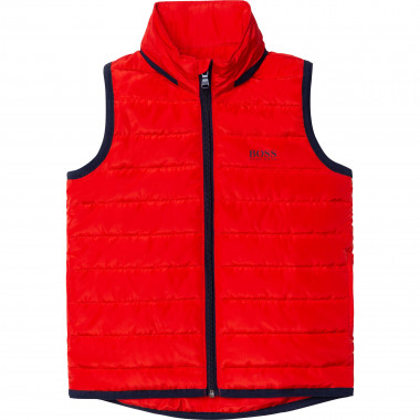 PUFFER JACKET SLEEVELESS BOSS for BOY