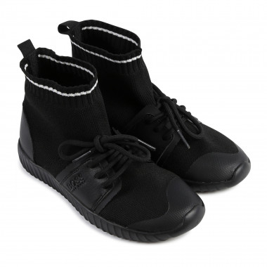 Two-tone sock trainers BOSS for BOY