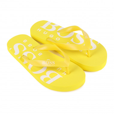 Plain logo flip-flops BOSS for BOY