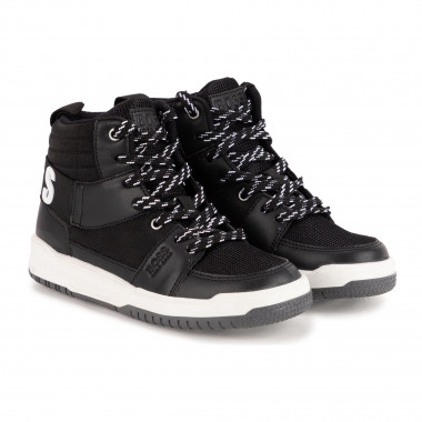 Lace-up high-top trainers BOSS for BOY