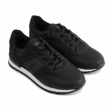 PU leather trainers BOSS for BOY