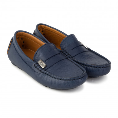 Leather moccasins BOSS for BOY
