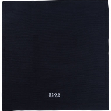 Cotton and cashmere blanket BOSS for UNISEX