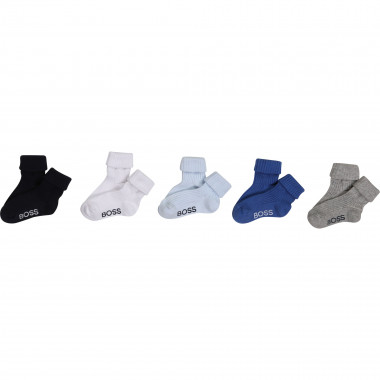 Five-pack of socks BOSS for BOY