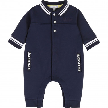 Double jersey babygro BOSS for BOY
