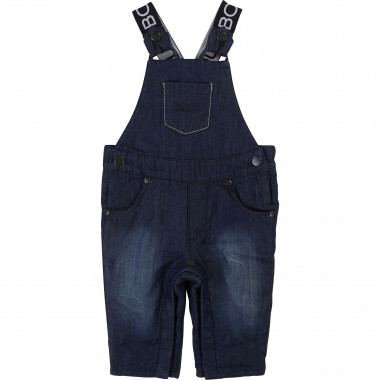 Denim baby dungarees BOSS for BOY