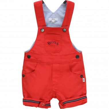 Plain lined dungarees BOSS for BOY