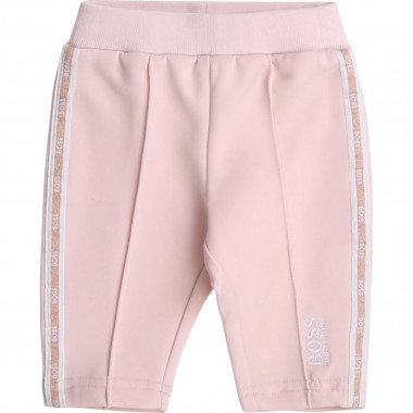 Jogging trousers with stripe BOSS for GIRL