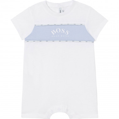 Cotton short romper BOSS for BOY