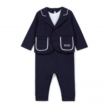 Milano suit-inspired romper BOSS for BOY