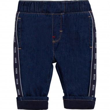 Stretch cotton-blend jeans BOSS for BOY