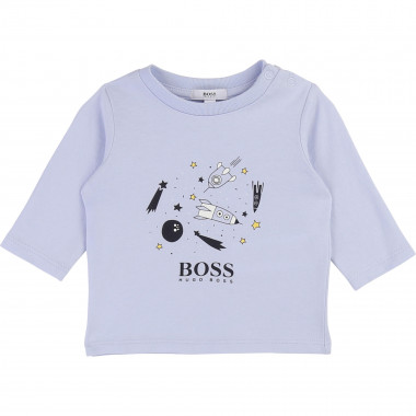 T-shirt in cotton jersey BOSS for BOY