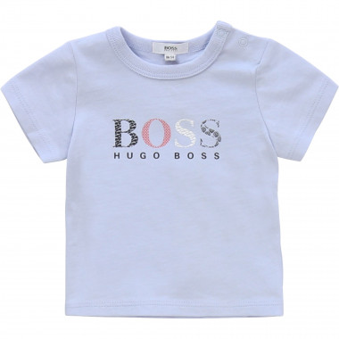 Patterned T-shirt with print BOSS for BOY