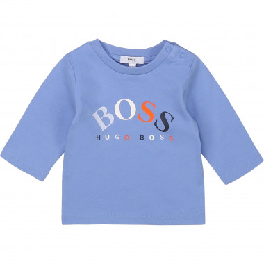 Cotton jersey T-shirt BOSS for BOY