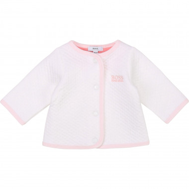 Jersey tube-knit cardigan BOSS for GIRL