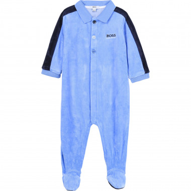 Velvet sleepsuit BOSS for BOY