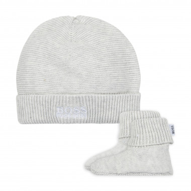 PULL ON HAT+SLIPPERS BOSS for UNISEX