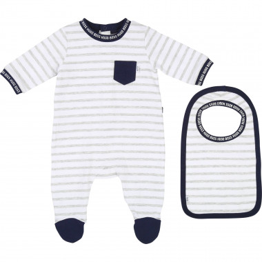 SET PYJAMAS+BIB BOSS for BOY