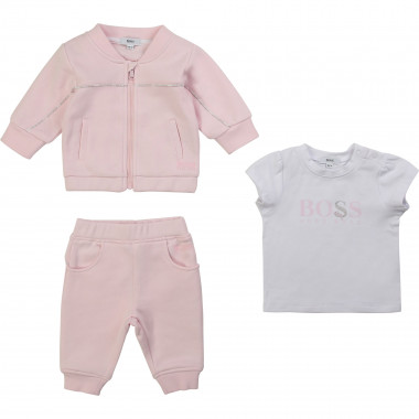 3-piece athletic set BOSS for GIRL
