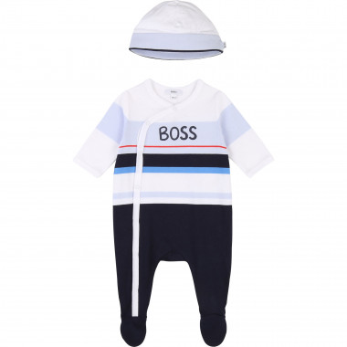 Cotton pyjama and cap set BOSS for BOY