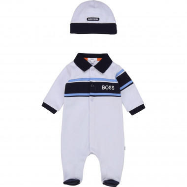 Jersey pyjama and hat set BOSS for BOY