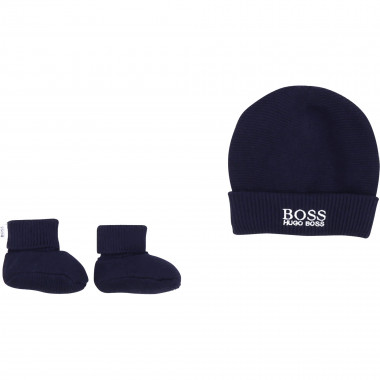 PULL ON HAT+SLIPPERS+BOX BOSS for BOY