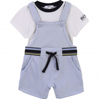 Dungarees and T-shirt set BOSS for BOY