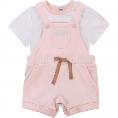 Dungarees and T-shirt set BOSS for GIRL