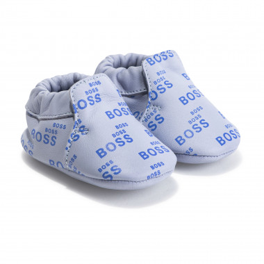Leather slippers BOSS for BOY