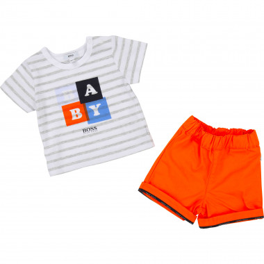 T-SHIRT+SHORTS BOSS for BOY