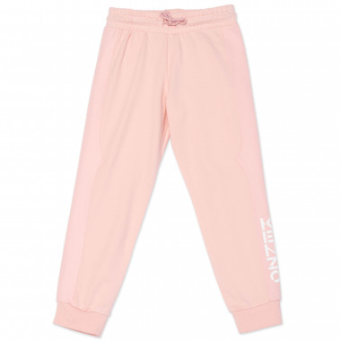 Cotton jogging bottoms KENZO KIDS for GIRL