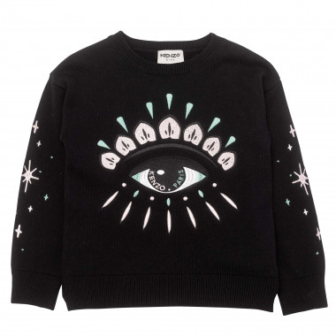 Cotton and cashmere jumper KENZO KIDS for GIRL