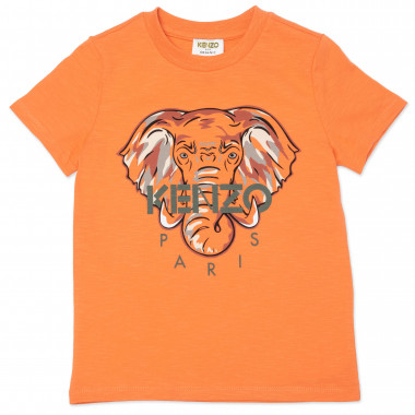 Cotton printed T-shirt KENZO KIDS for BOY