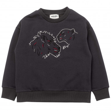 Loose-fit embroidered sweatshirt KENZO KIDS for BOY