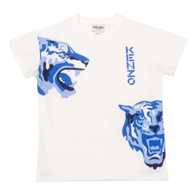 Loose-fit iconic T-shirt KENZO KIDS for BOY