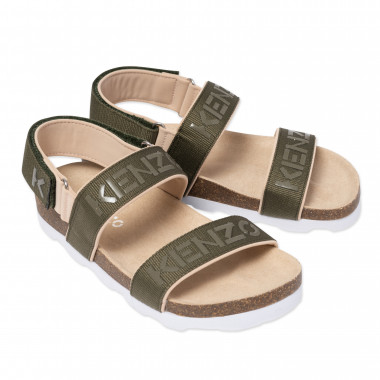 Sandals with notched soles KENZO KIDS for BOY