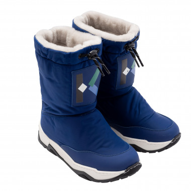 Furry snow boots KENZO KIDS for BOY