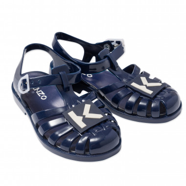 Buckled jelly sandals KENZO KIDS for UNISEX