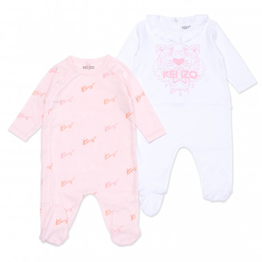 Organic cotton pyjama set KENZO KIDS for GIRL