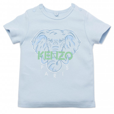 Elephant print t-shirt KENZO KIDS for BOY