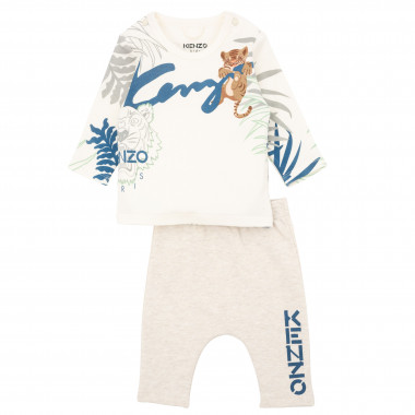 T-shirt and jogging trousers set KENZO KIDS for BOY