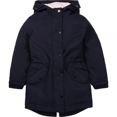 Hooded waterproof parka AIGLE for GIRL