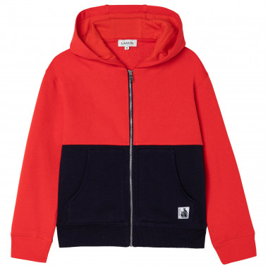 Zipped hooded cardigan LANVIN for BOY